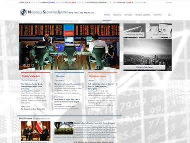 Stock Market Web Application - NSL
