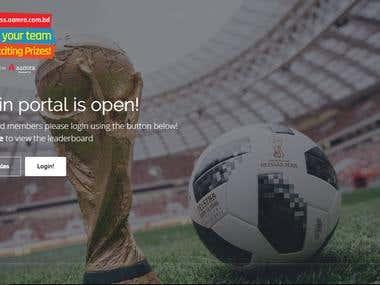 Fantasy football web application - aamra Goal Express