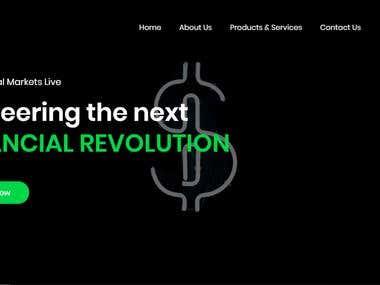 Responsive website - iMarketsLive Asia