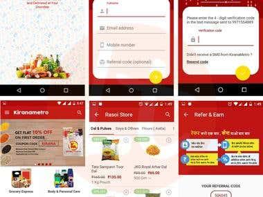 KiranaMetro: E-commerce