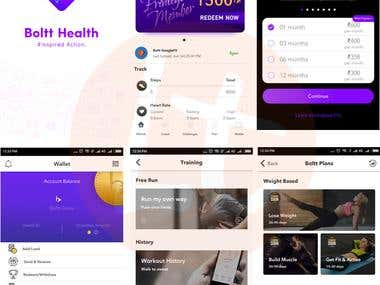 Boltt Health Fitness App