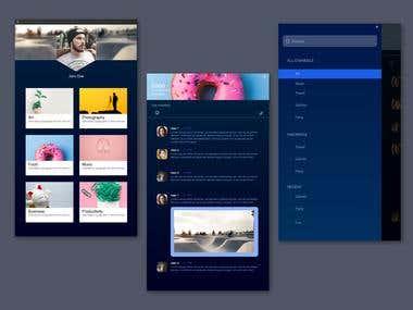 Chat App UX/UI