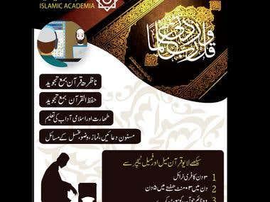 BROCHURE FOR ISLAMIC ACADEMIA