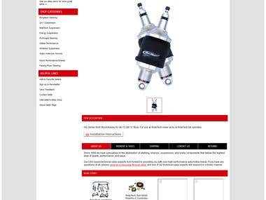 eBay Motors Listing