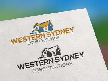 Western Sydney Constructions Logo Design