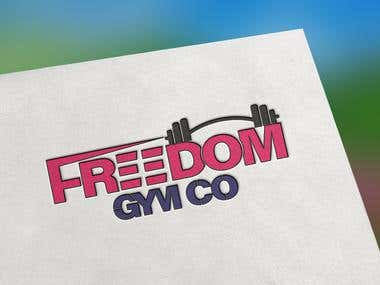 Freedom Gym Co Logo