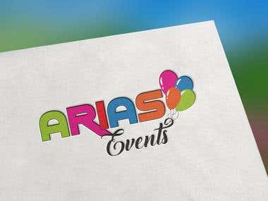 Arias Events Logo