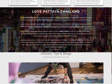 Pataya tour website
