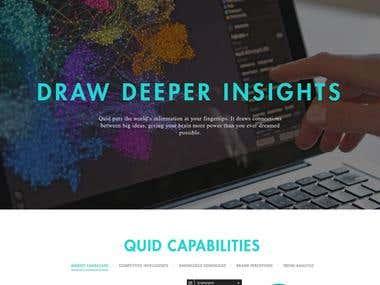 Quid - Web Design