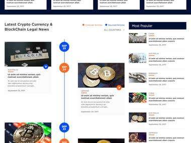 Coinlaw - Web Design
