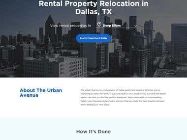 The Urban Avenue - Web Design