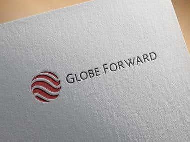 Globe Forward Logo Icon