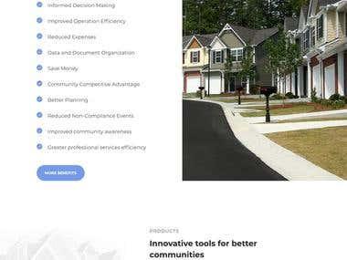 Communit - Web Design