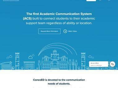 Conexed -Web Design