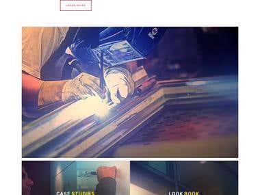 Fireglass - Web Design