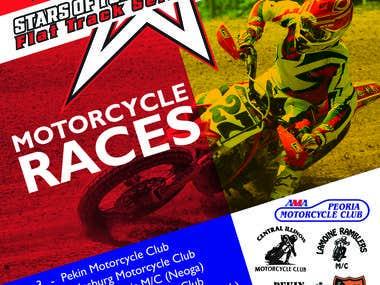 AMA Racing Poster