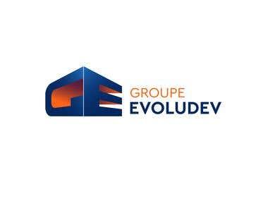 GROUPE EVOLUDEV LOGO