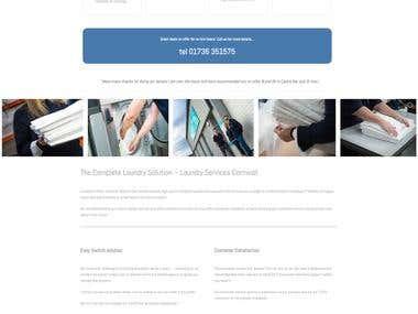 Laundry Website