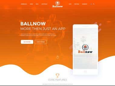 BallNow Website