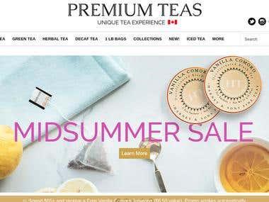 PREMIUM TEAS