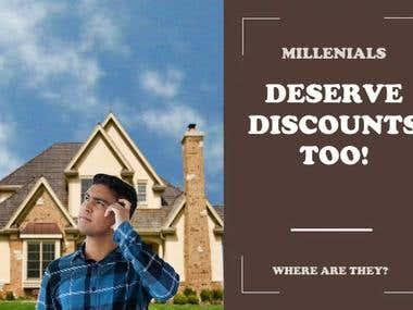 Millennial Discount Ad
