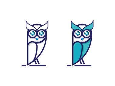 owl logo for sell