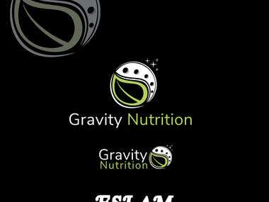 Gravity Nutrition logo for sell