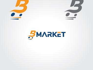 Bmarket logo for sell