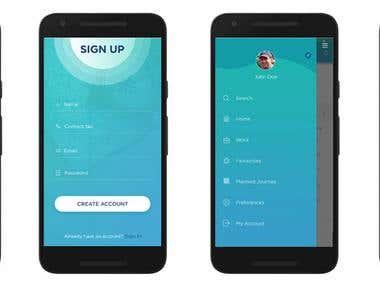 Guardian App - Mobile App Designing