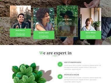 Agricultural Website