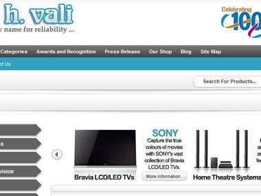 Alfat H Vali - Local store going online
