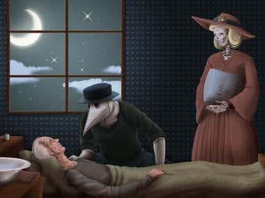 Medico de la peste