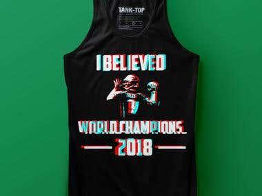 I BELIEVED T-shirt Design