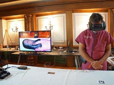 Medical Simulation AR