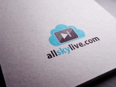 Logo Design for allskylive.com