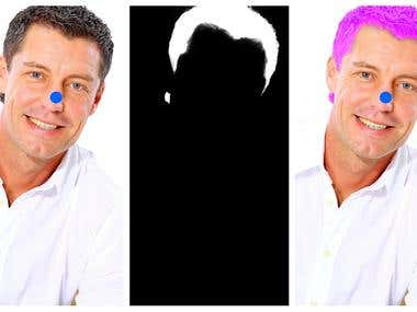 Photoshop Masking - Hair