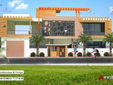 contemporary villa (Isaïe alias Archizo)