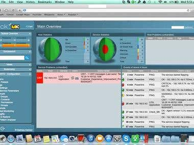 GUI based Multi Tenant IT & Network Monitoring solution.