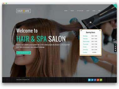 Web Development for Hair & Beauty Industry