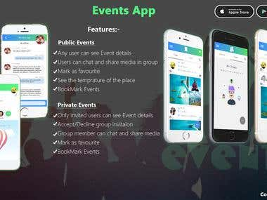Lyncz/event app
