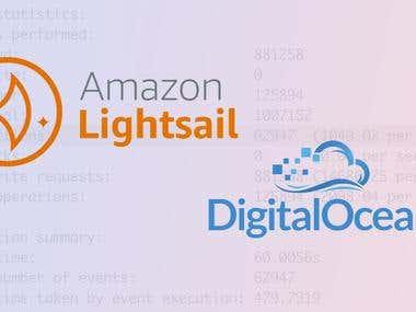 Setup AWS Light Sail or Digital Ocean VPS