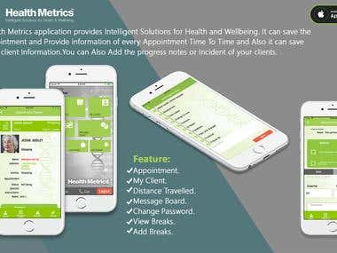 Healthmetrics - BILL GATES FOUNDATION APP