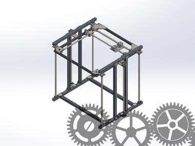 Cartesian Mesurement Automatic Device Design