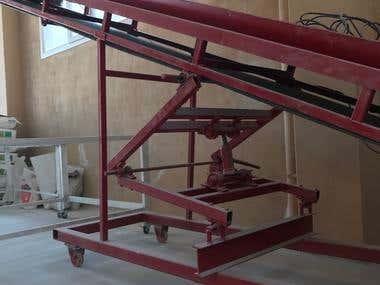 Heavy Industry Conveyor Chasis Design