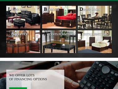 PriceBuster Online Ecommerce Furniture Portal
