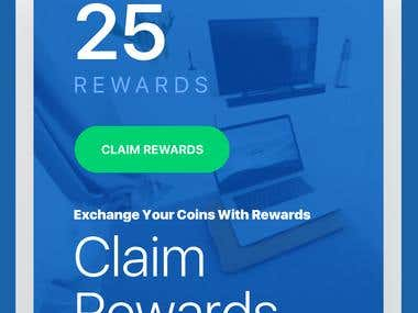 Rewards Apps - Mobile UI
