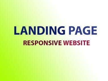 I will create any landing page