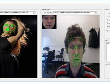 Face Tracking, Recognition, Swapping