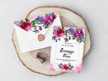 Wedding Invaitation Card