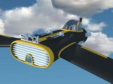 Air Ship 3d Design